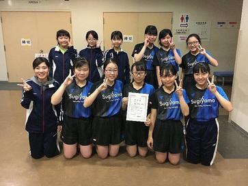 卓球部が、全国中学校選抜卓球大会名古屋地区予選で準優勝! | 新着 ...